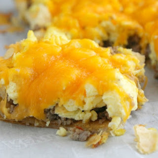 Sausage Egg and Cheese Breakfast Tart