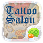 (FREE) GO SMS TATTOO SALON THEME Icon