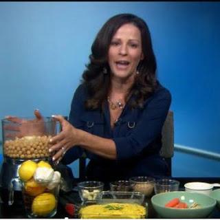 Julieanna Hever's Indian hummus dip