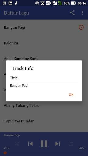 Lagu Anak Indonesia 1.0 screenshots 3