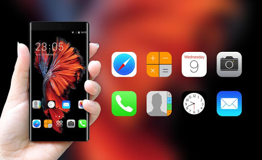 Wallpaper for iphone 6:IOS launcher for New iphone  screenshots 4