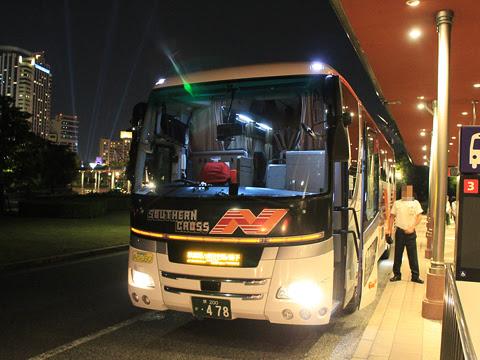 南海バス「サザンクロス」銚子線 ・478 ユニバーサルスタジオジャパン バスターミナルにて