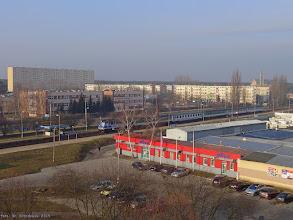 """Photo: EP07-1060, TLK """"Wieniawski"""" Bydgoszcz Główna - Lublin {Włocławek Zazamcze; 2015-03-01}"""