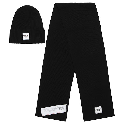Primary image of Emporio Armani Hat & Scarf Set
