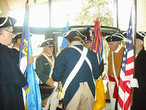 Photo: Combined Great Lakes District Color Guard of Illinois, Wisconsin and Michigan