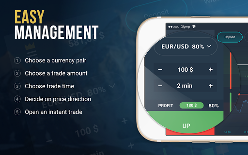 OlympTrade app (apk) free download for Android/PC/Windows screenshot