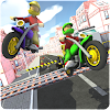 Railroad Moto Traffic SIM 2017