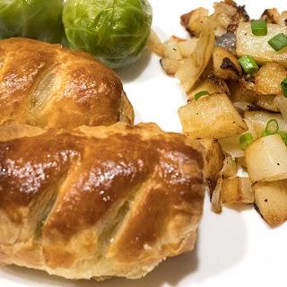 Easy Peasy British Sausage Rolls.