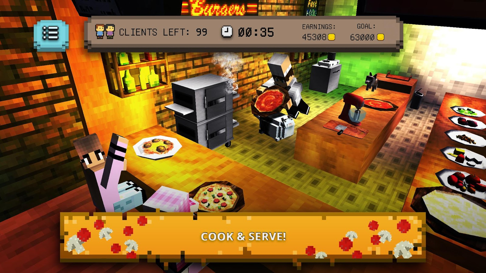 Pizza Craft: Chef Cooking Games for Girls & Boys- screenshot