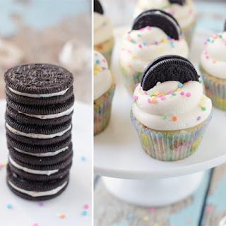 Funfetti Birthday Cake Oreo Cupcakes Recipe