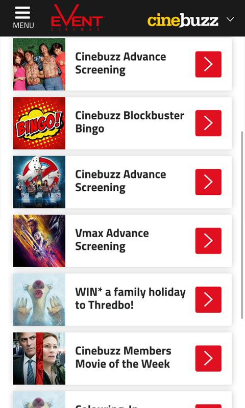 Event Cinemas- screenshot