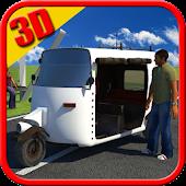 Auto Rickshaw Driver Simulator