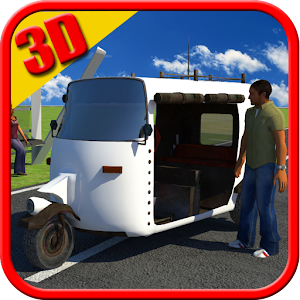 Auto Rickshaw Driver Simulator for PC and MAC
