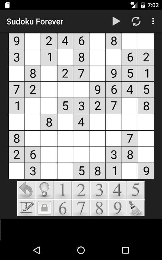 Sudoku Forever- screenshot