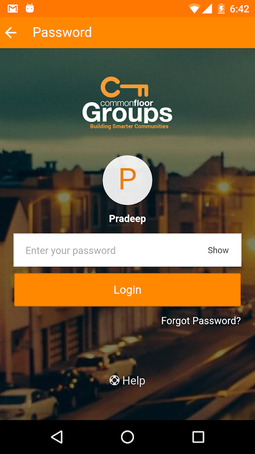 Groups by CommonFloor- screenshot