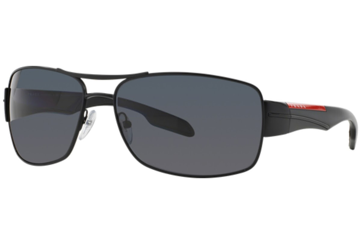 db714d44e0853 Polarized Sunglasses Prada Linea Rossa PS 53NS C65 1BO5Z1