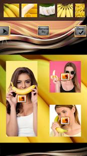 Banana Photo Collage - náhled