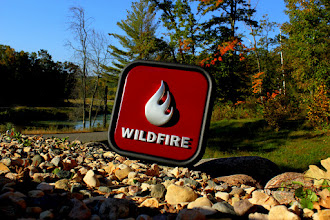 Photo: This sign was produced for Wildfire by Google. Check out www.nicecarvings.com