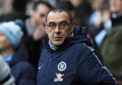 Maurizio Sarri peut s'attendre à vivre des jours difficiles avec Chelsea