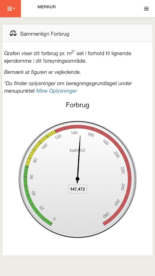 eForsyning- screenshot