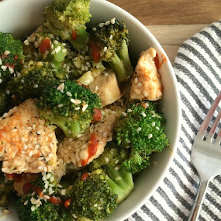 Chicken breast  with Pak Choi & Broccoli