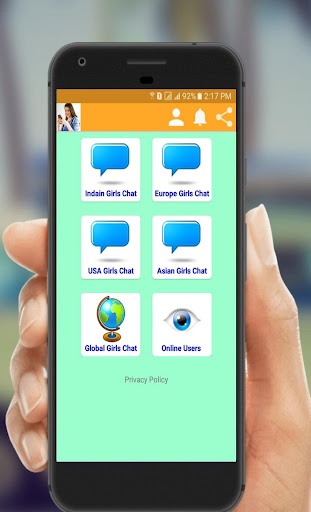 Girls Live Chat - Free Talk 1.8 screenshots 2