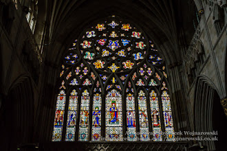 Photo: Exeter Cathedral - stained glass (2) (Narthex). Captured @ Exeter, Devon, England, United Kingdom
