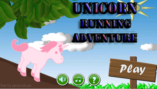 unicorn running adventure