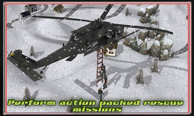 Helicopter: Hill Rescue Op - screenshot