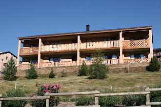 Photo: La résidence en été et son parc
