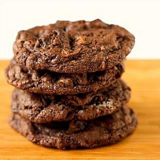 Triple Chocolate Oreo Chunk Cookies.
