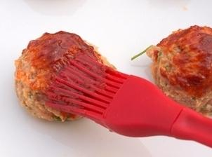 Brush the top of each meatball with the sauce and bake them another 15-20...