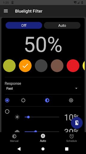 Bluelight Filter for Eye Care - Auto screen filter screenshot 6