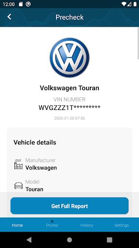 Volkswagen History Check: VIN Decoder apktram screenshots 2