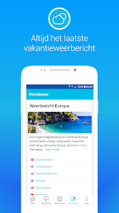 Weerplaza - complete weer app- screenshot thumbnail