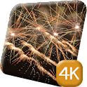 New Year Fireworks 4K Live icon