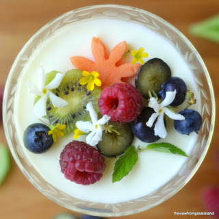 Lemon Panna Cotta.