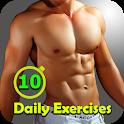 10 Daily Exercises - Full Body Workout icon