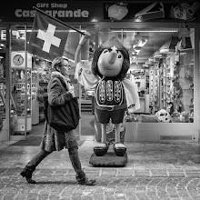 Photo: Swiss...   #street #streetphotography #shootthestreet #blackandwhite #blackandwhitephotography #bw #monochrome