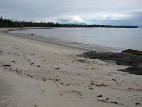 Photo: My campsite north of Point Vandeput near Thomas Bay.