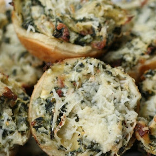 Such A Fun Way To Serve Your Favorite Spinach Artichoke Dip!.