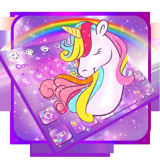 Adorable Galaxy Unicorn