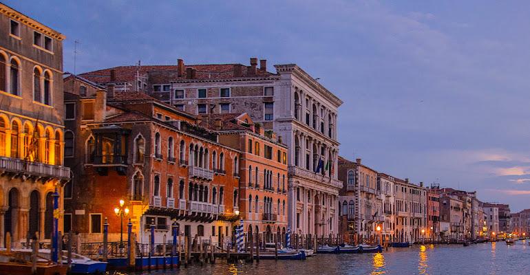 Venezia serale di Giovanni Viaro