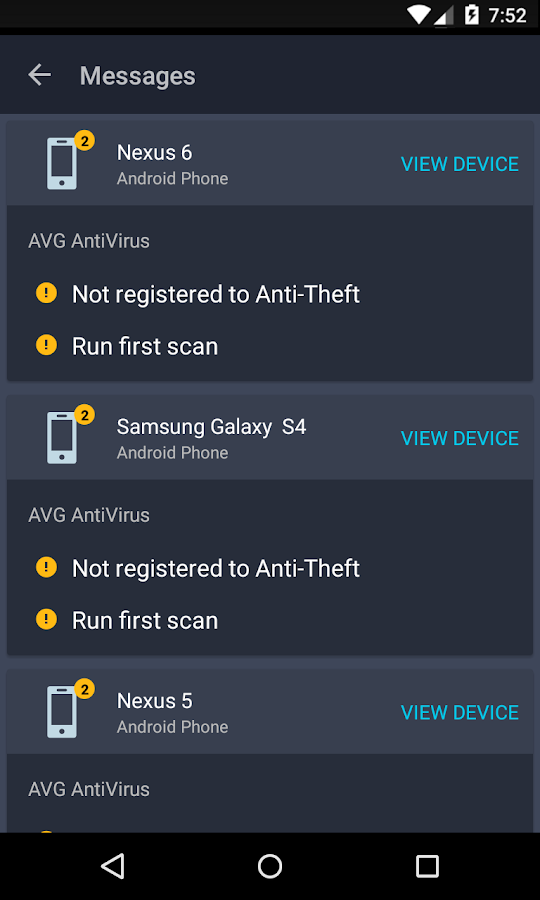 AVG Zen – Protect more devices- screenshot
