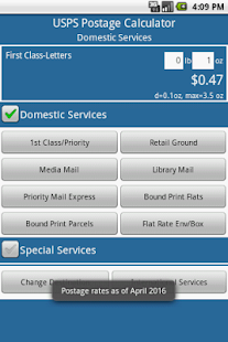 Postage Calculator USPS – Apps on Google Play
