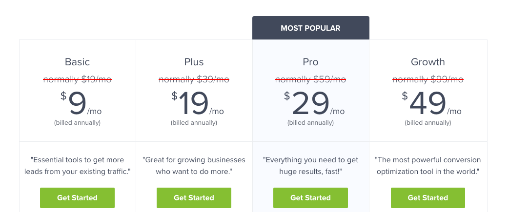 A Guide to Pricing Plans 12