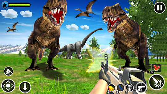 Dinosaur Hunter Free Apk 4