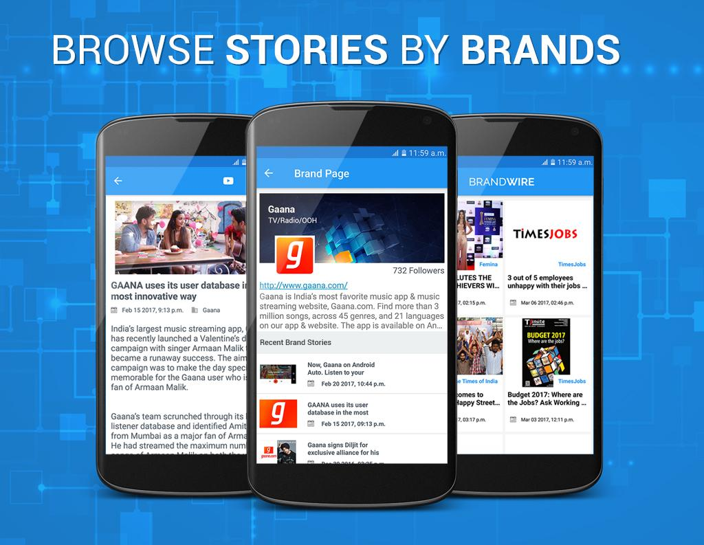 Brand Stories by Brandwire.in- screenshot
