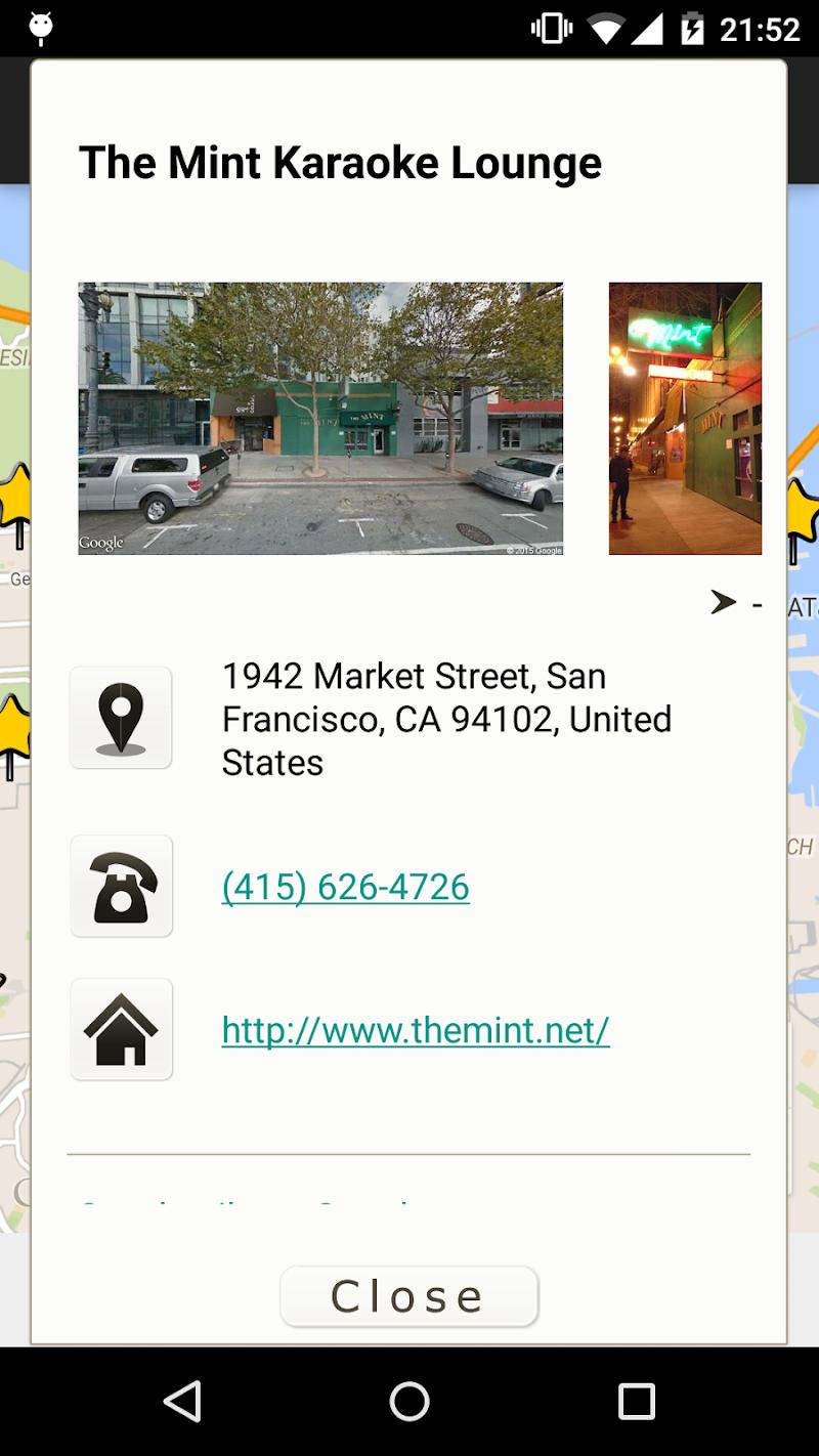 Скриншот Karaoke Finder