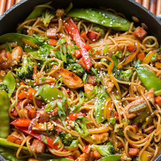 Spaghetti Noodles Teriyaki Recipes